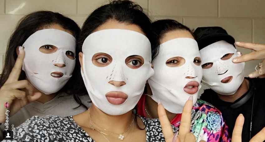 huda beauty Charlotte tilbury sheet mask review