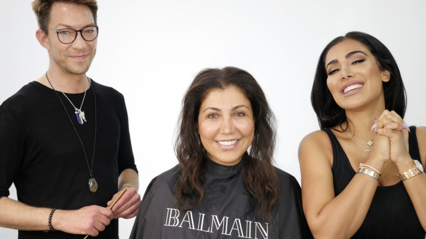 balmain hair couture extensions huda beauty