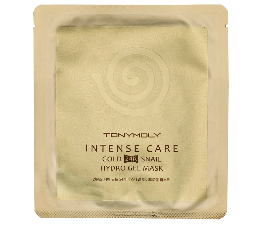 Tony Moly Intense Care Snail Gold 24k Hydrogel Mask