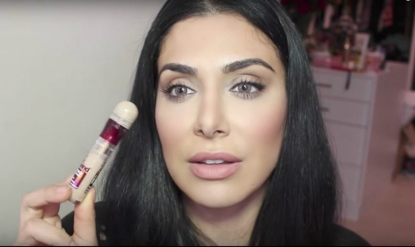 Maybelline's Instant Age Rewind Eraser Dark Circle Treatment Concealer review Huda Beauty