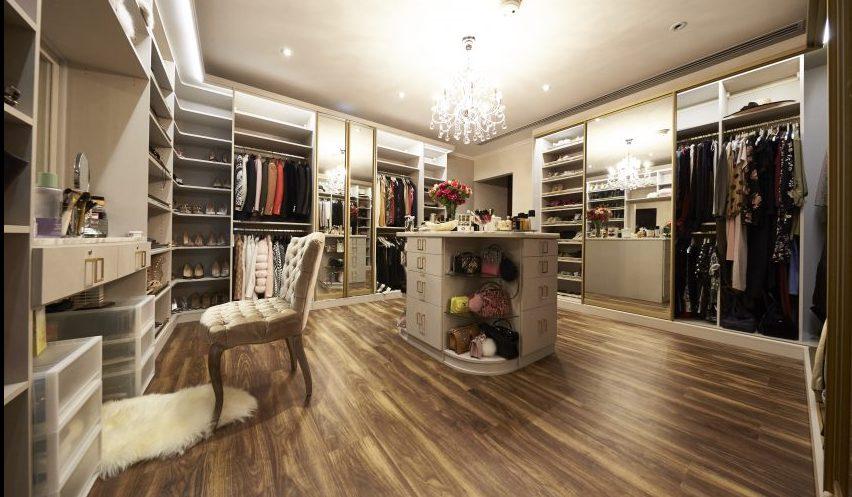 huda beauty closet