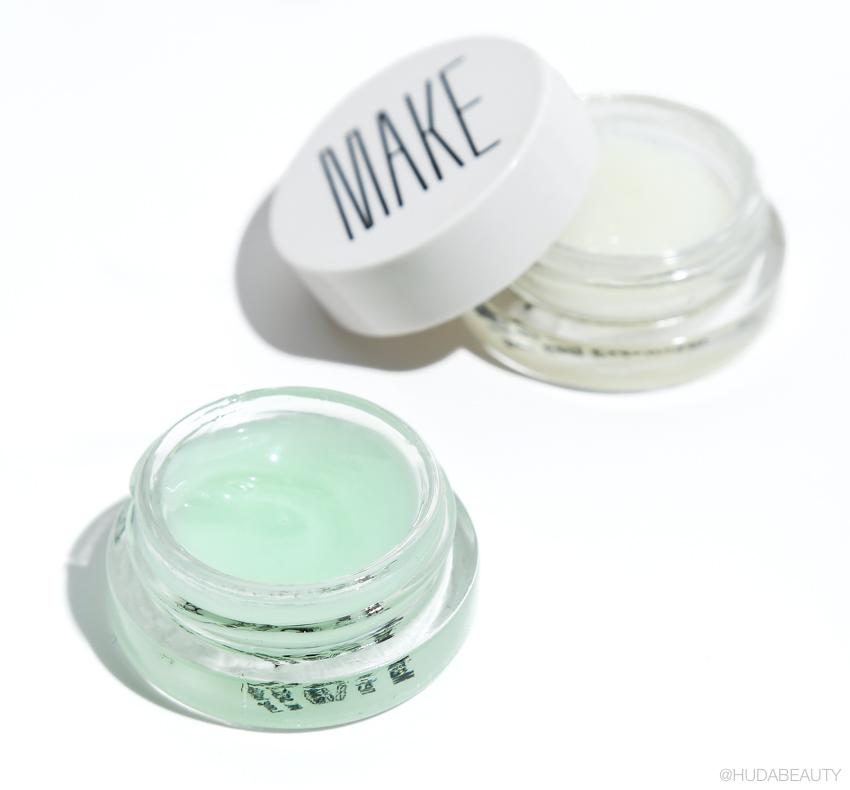 MAKE beauty Sea Salt Exfoliator & Marine Lip Repair kit