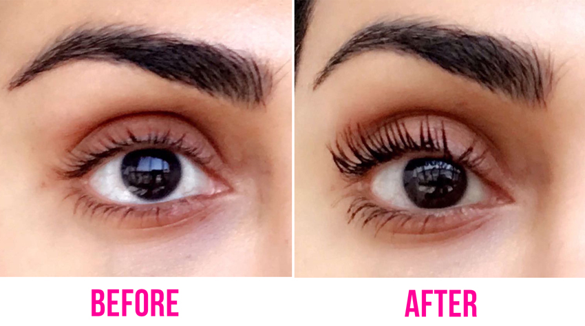 maybelline colossal big shot mascara review before and after