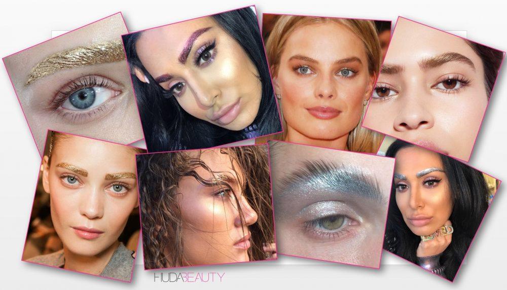 metallic brows