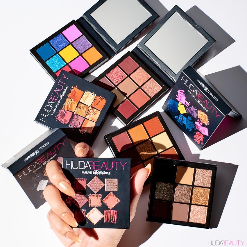 huda beauty obsessions eyeshadow palettes