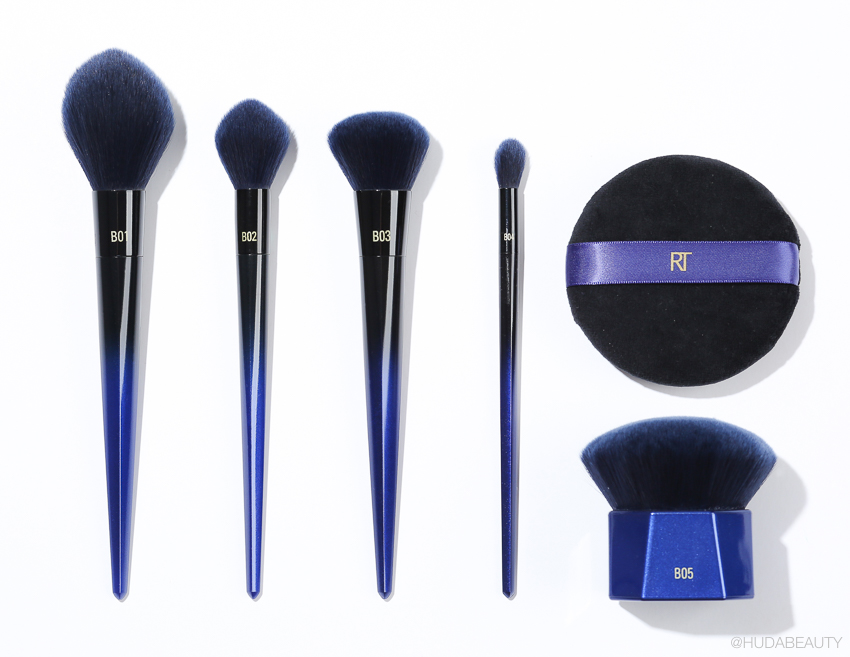 Real Techniques PowderBleu Collection review