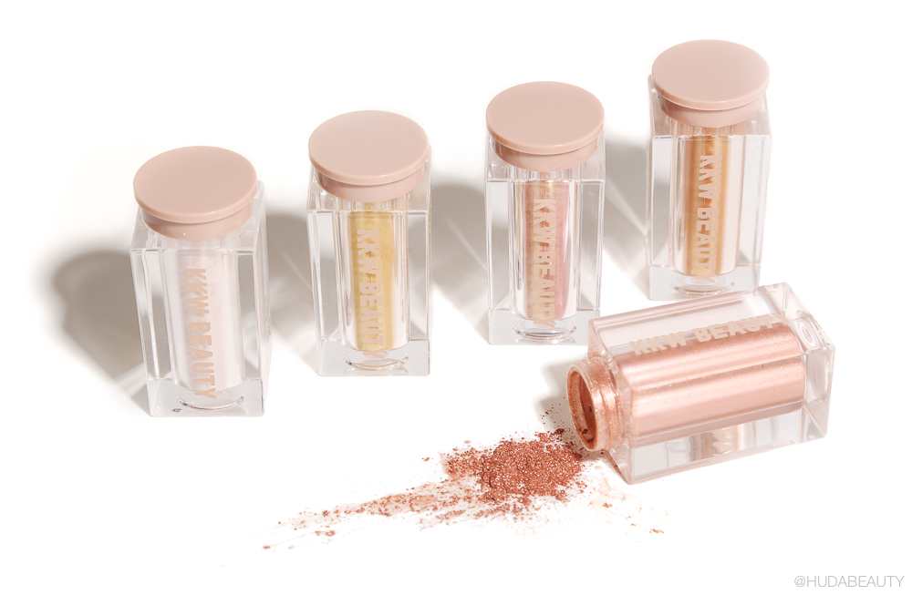 KKW Ultralight Beams Highlighters and Glosses
