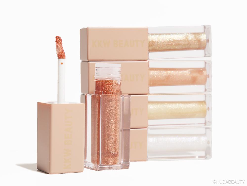 KKW Beauty Ultralight Beams Glosses