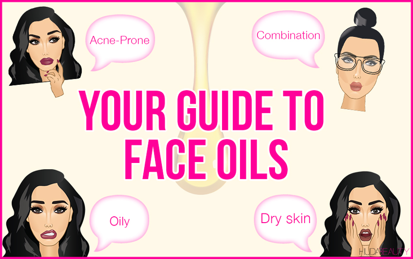 guide to choosing facial oils for your skin type