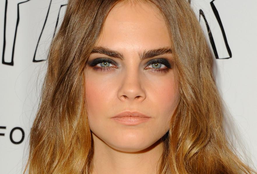 Cara delevigne brows