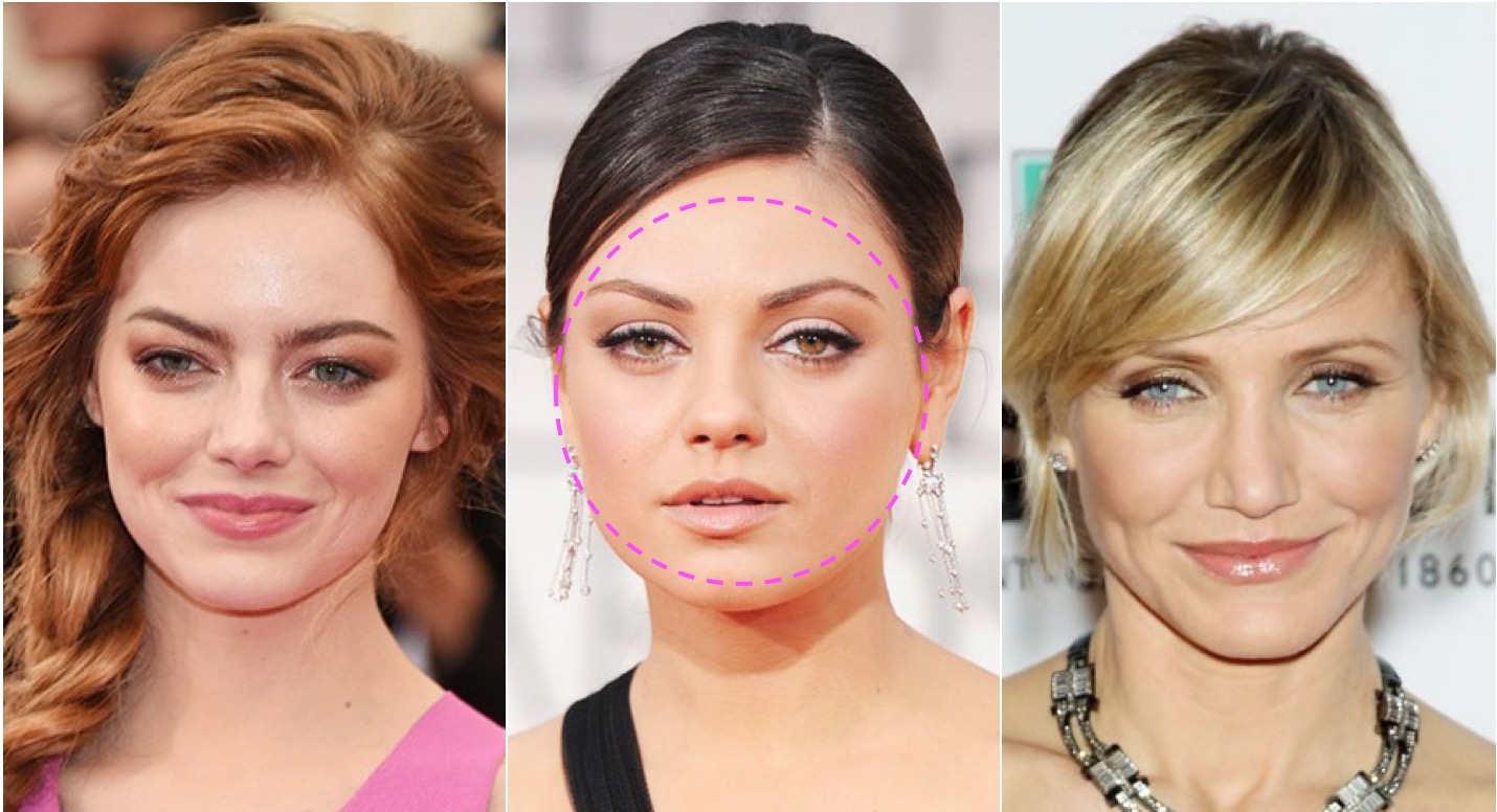 round-face celebs