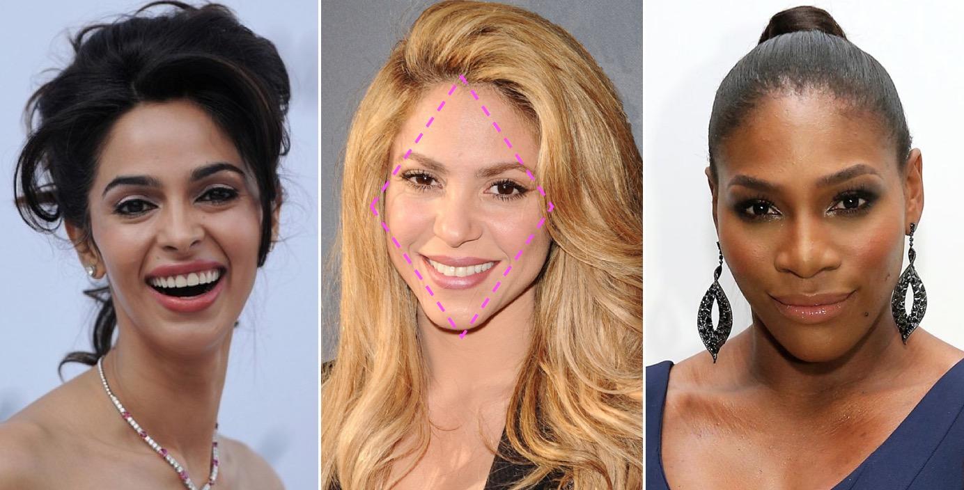 diamond-face celebs