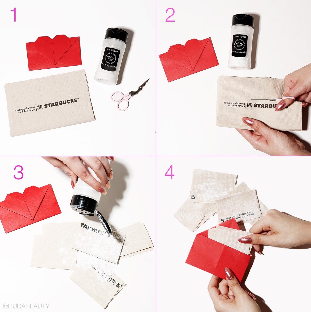 Easy DIY blotting papers