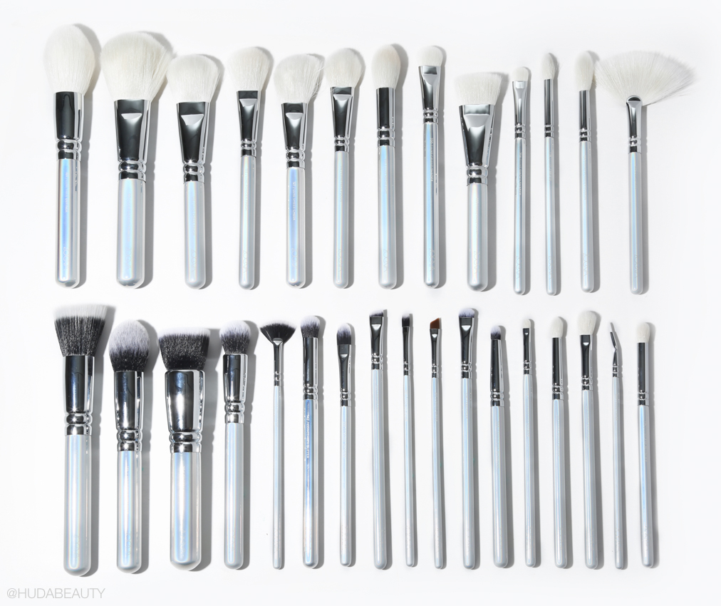 Zoeva makeup brushes review