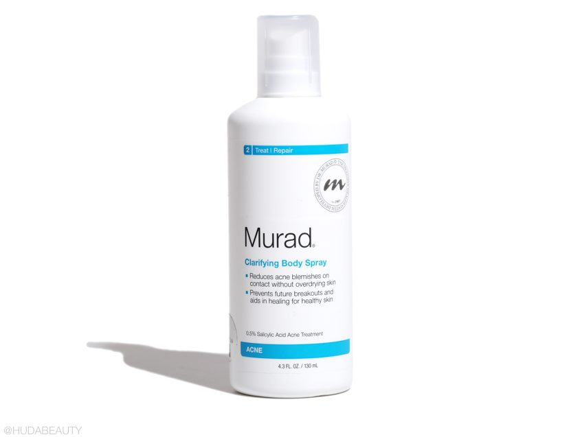 Murad body spray for body acne