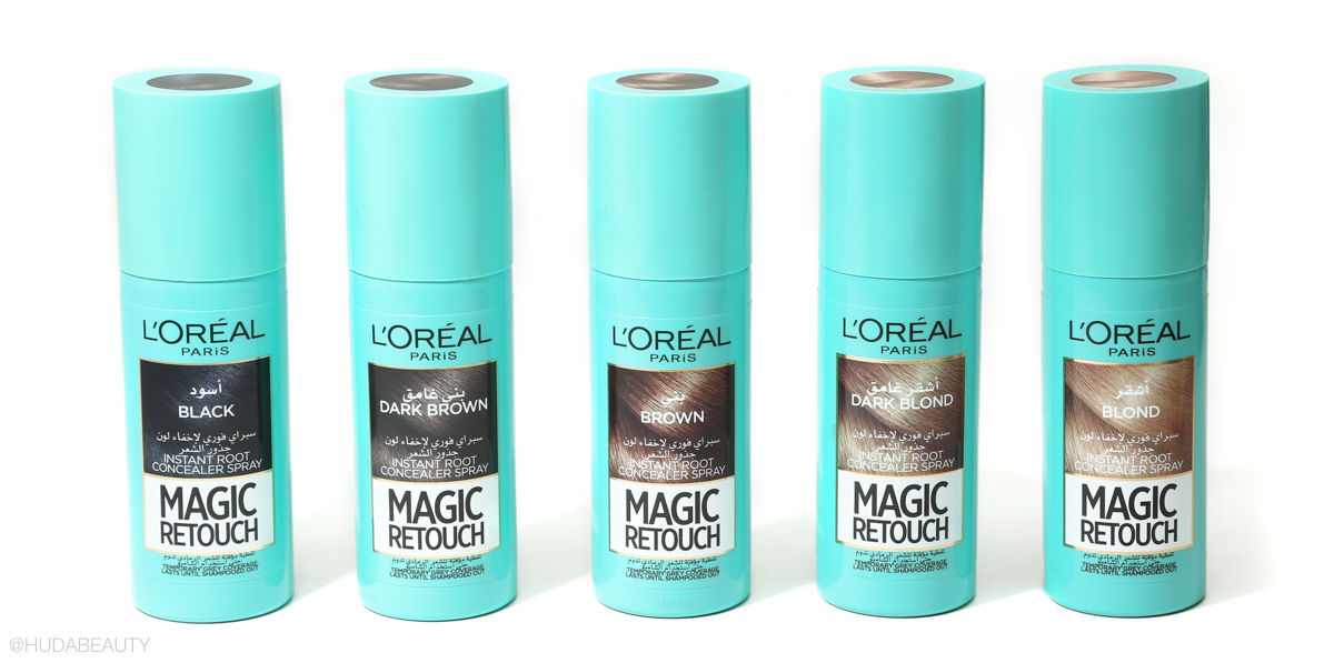 l'oreal magic retouch hair concealer spray