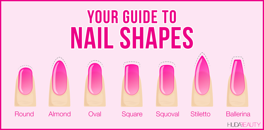 your guide to nail shapes