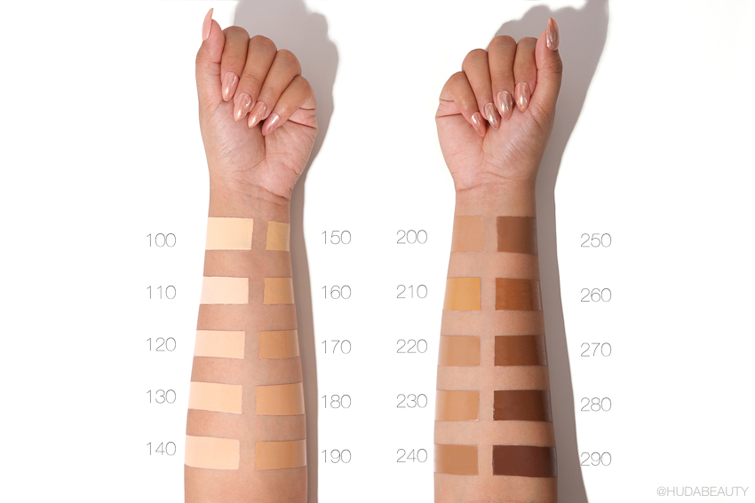 Sunday Riley The influencer swatches