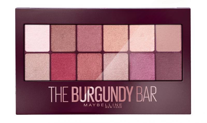 Maybelline Burgundy Bar Eye Shadow Palette