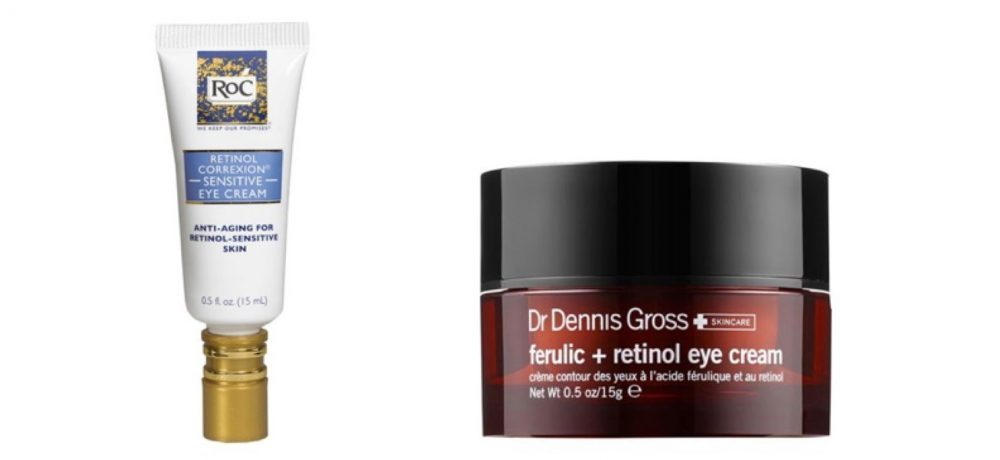 Drugstore eye cream v luxury eye cream