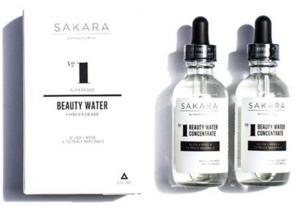 Sakara Beauty Water Concentrates
