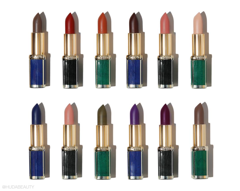 L'Oréal Paris X Balmain Color Riche lipstick collection