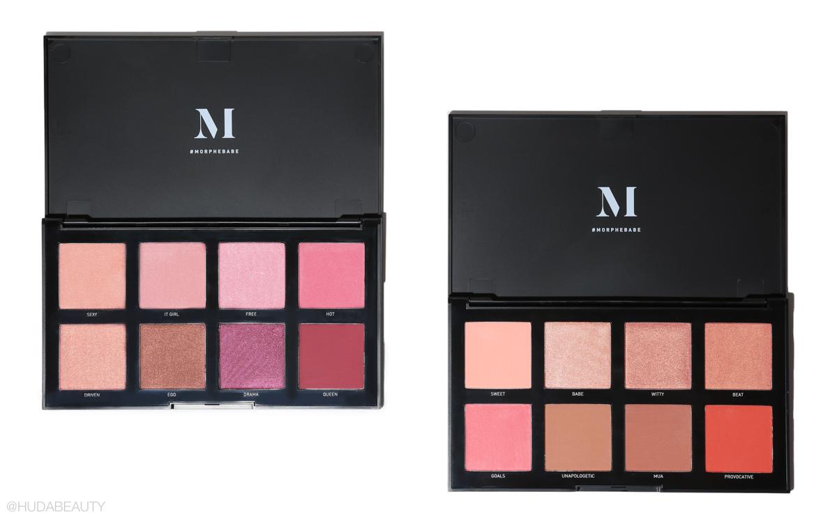 morphe blush palettes