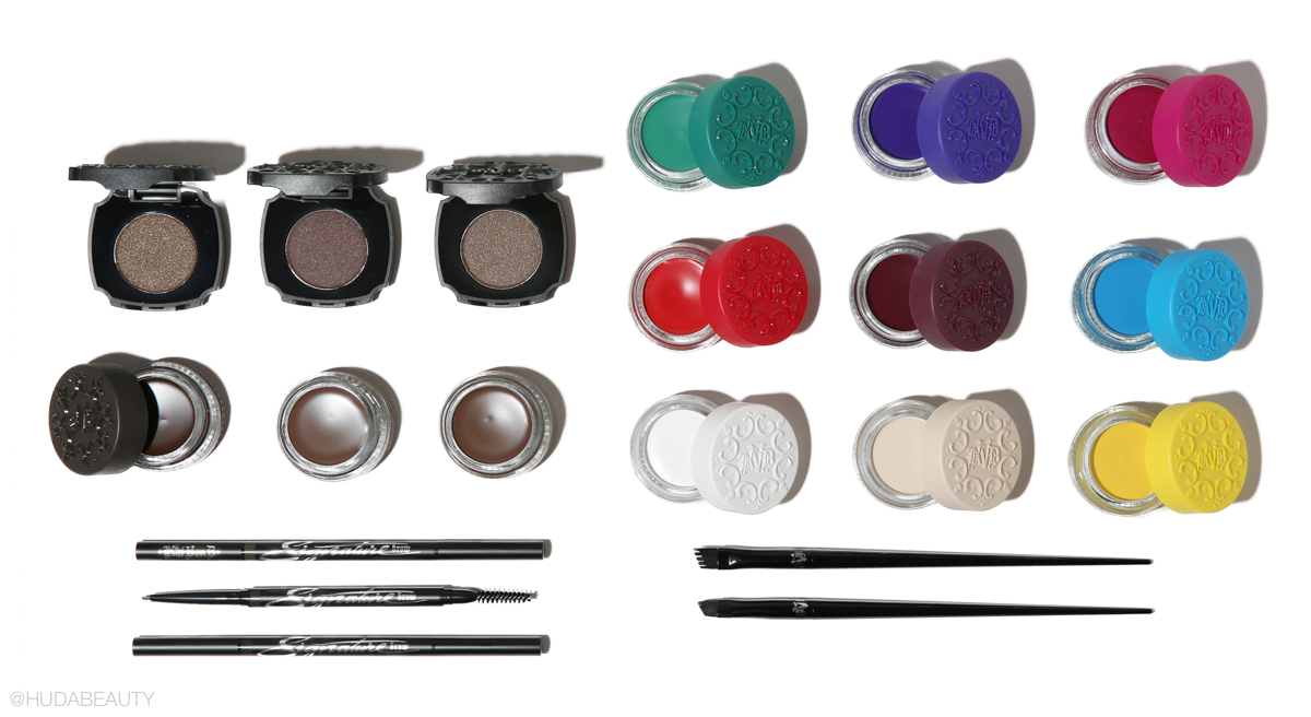 Kat Von Ds Rainbow Brow Collection