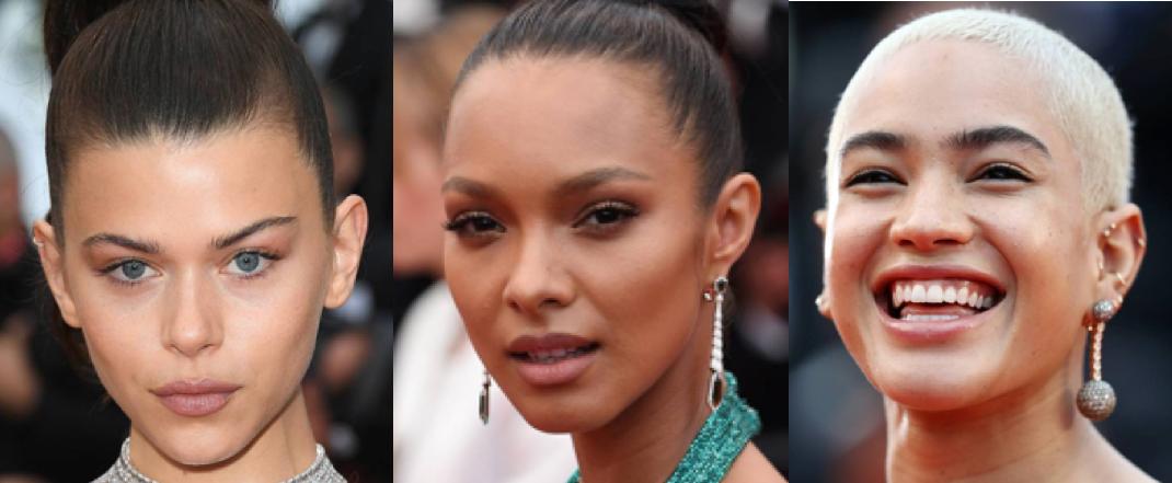 Cannes no makeup makeup