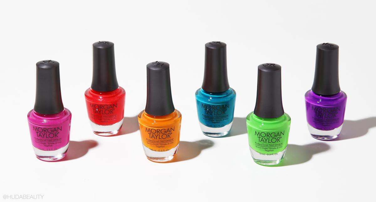 Morgan taylor neon nails