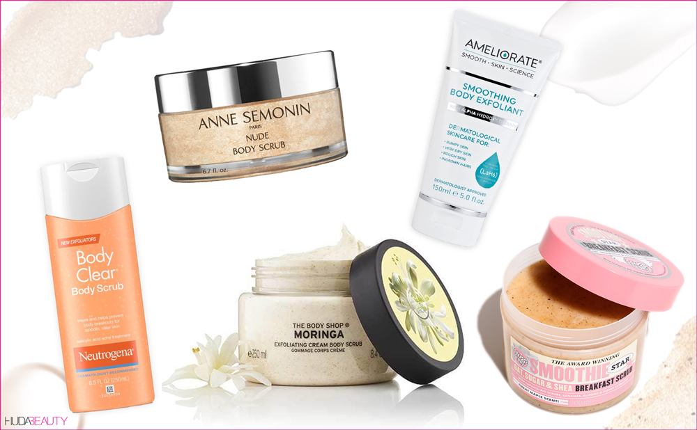 The Best Body Scrubs For Sexy Smooth Summer Skin Blog Huda Beauty