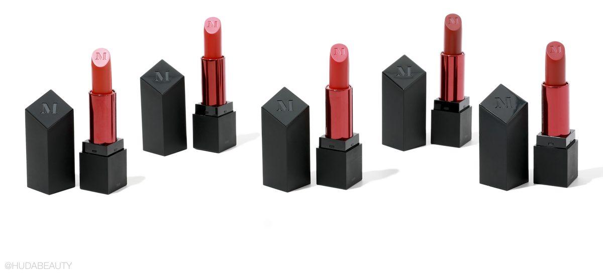 Morphe x Nikita Dragun lipstick collection