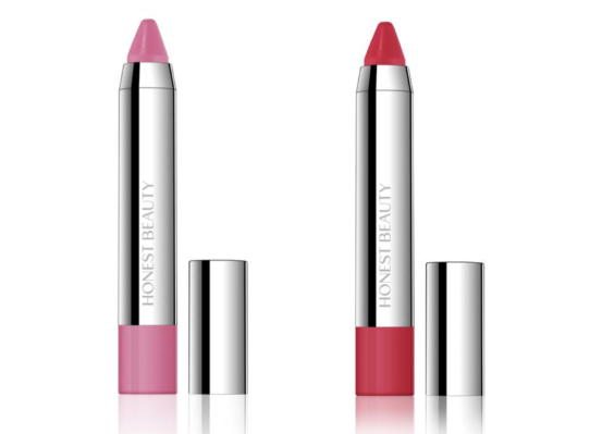 Honest Beauty Truly Kissable Demi-Matte Lip Crayon in Strawberry