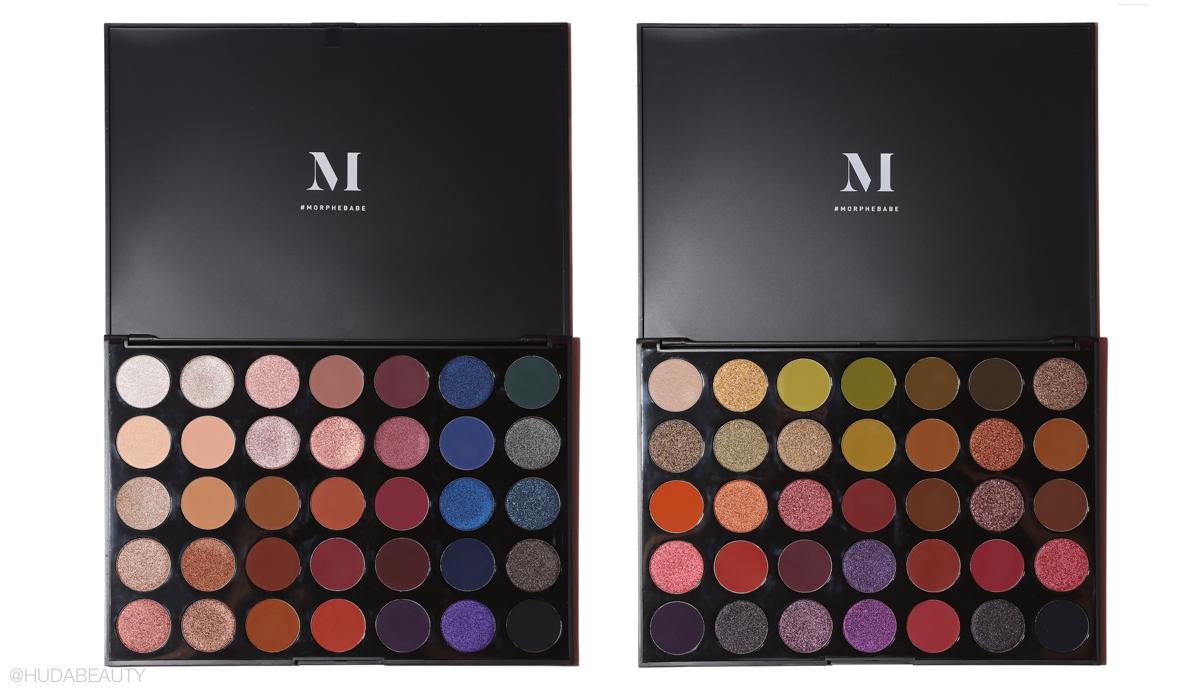 morphe eyeshadow palette review