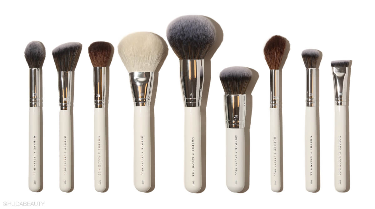 Morphe x Jaclyn Hill face brush collection