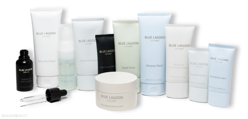 the blue lagoon products