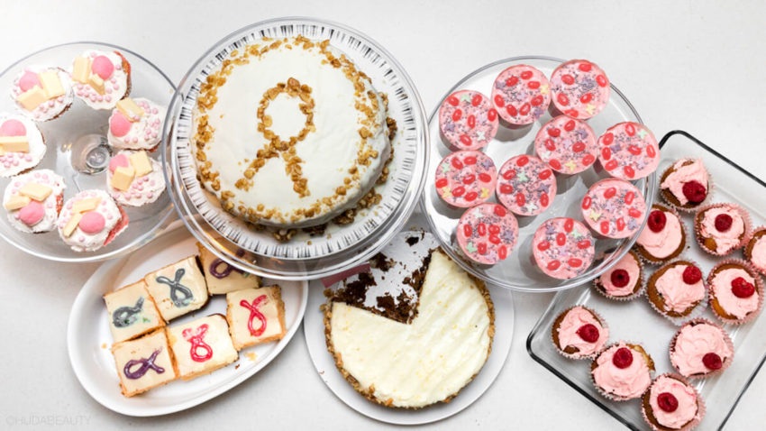 huda beauty breast cancer awareness day