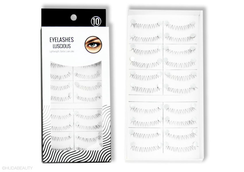 miniso eyelashes