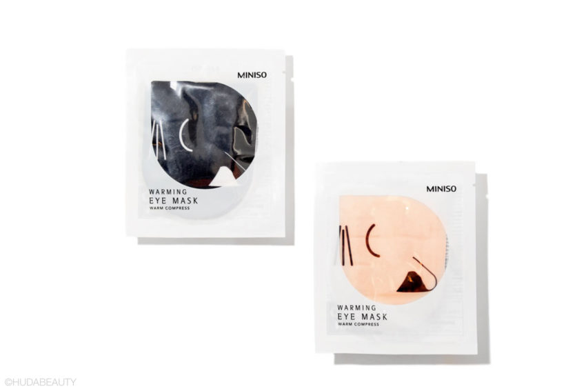 heating eye mask