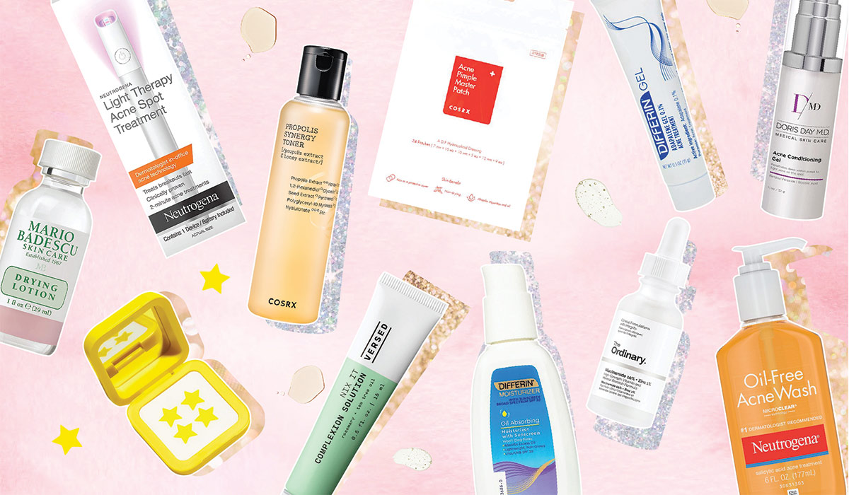 Our Top 10 Tried And Tested Acne-Fighting Products