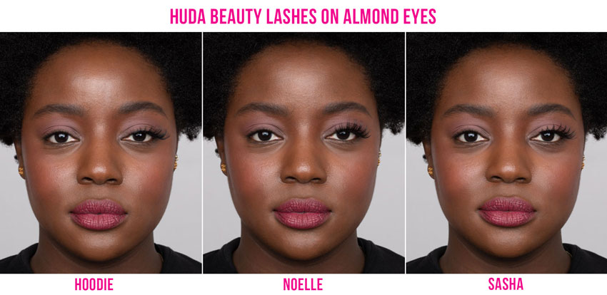 False Lashes for Almond Eyes