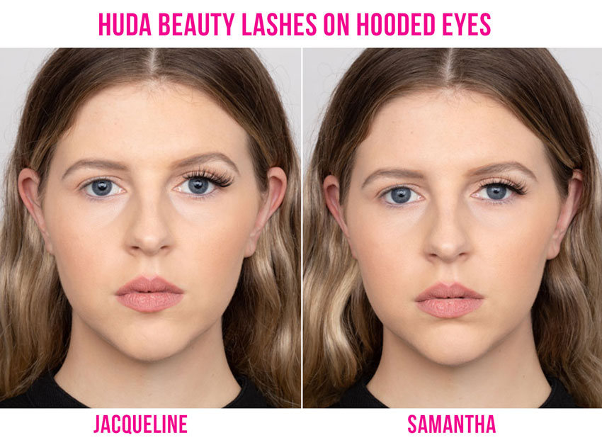 False Lashes for Hooded Eyes or Small Eyes