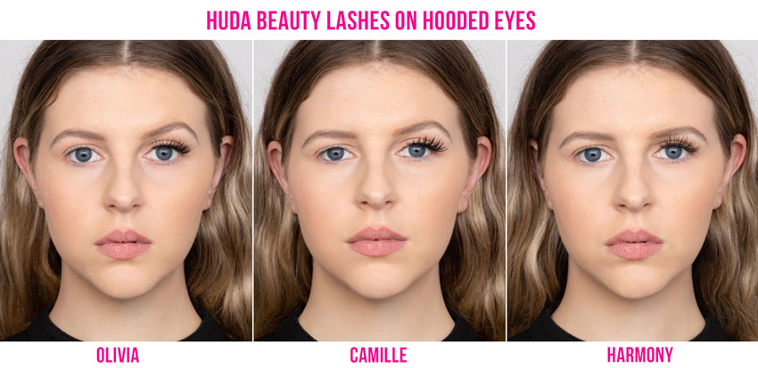 False Lashes for Hooded Eyes or Small Eyes