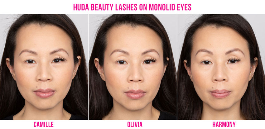 False Lashes for Monolid Eyes