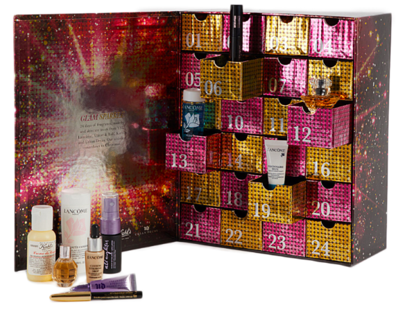Beauty themed advent calendar