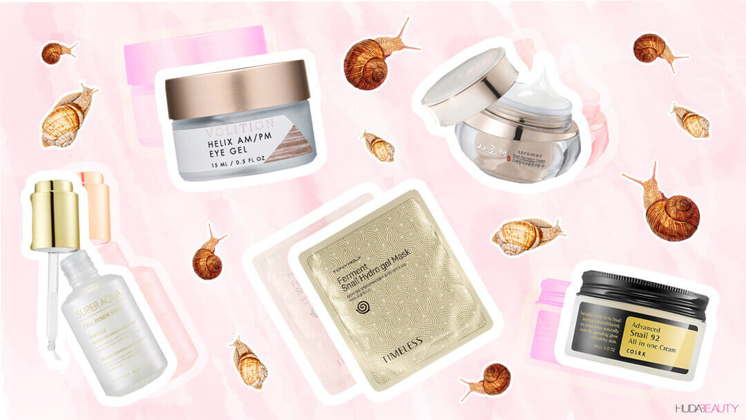 5-new-snail-slime-Products-That-will-transform-your-skin
