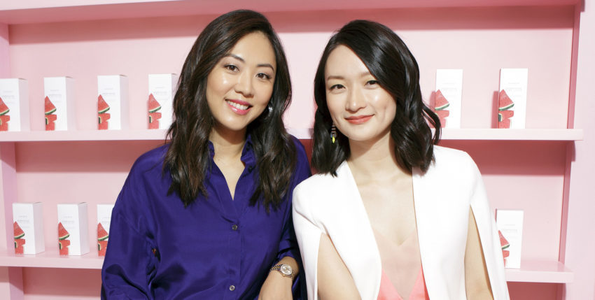 Sarah Lee (L) Christine Chang (R)