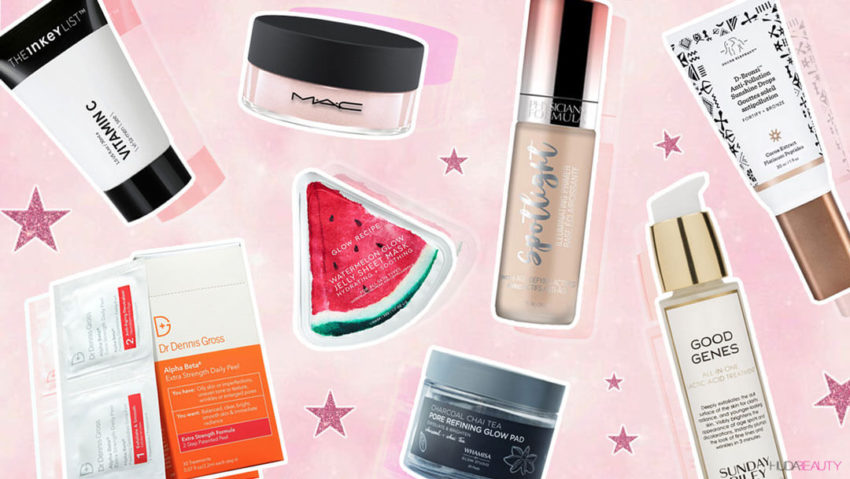 Best lazy girl products for glowing skin