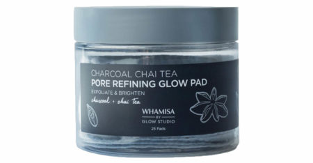 charcoal cleansing pads