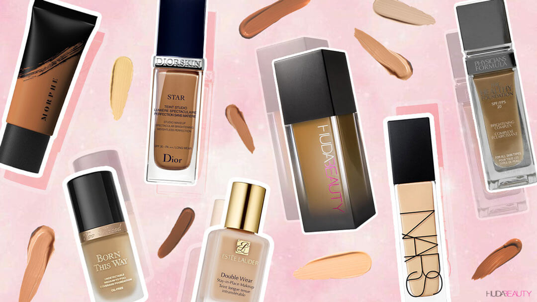 These Are The Best Full-Coverage Foundations